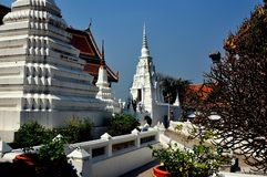 Saraburi, Thailand: Wat Phra Phutthabat Stock Photo