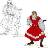 saracen воин Стоковое Фото