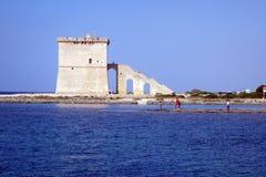Saracen torre lapillo Stock Image