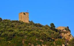 Saracena de Torre Photographie stock libre de droits