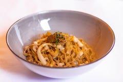 Saraceno italiano delicioso de massa massa di grano do trigo mourisco com fotografia de stock royalty free