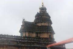 Sarada-Tempel von shringhri stockbilder