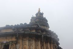 Sarada-Tempel von shringhri stockfoto