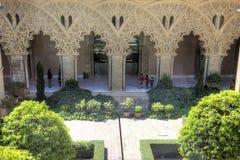 Saragossa. Aljafería Palace Royalty Free Stock Image