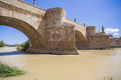 Saragossa, Aragonien, Spanien Stockfotos