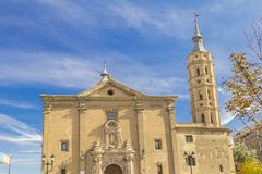 Saragossa. Royalty Free Stock Photography