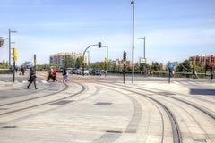 Saragossa. Cityscape Stock Image