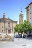 Saragossa. Cityscape Stock Images