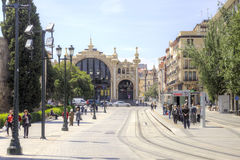 Saragossa. Cityscape Stock Photos