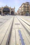 Saragossa. Cityscape Royalty Free Stock Image