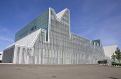 Saragossa, Kongresshalle lizenzfreies stockfoto