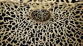 Saragossa-Skulptur Stockfoto