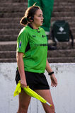 Sarah Bennison - RFL match official Royalty Free Stock Photo