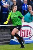 Sarah Bennison - RFL match official Stock Images