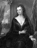 Sarah Churchill, Hertogin van Marlborough royalty-vrije stock foto