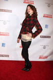 Sarah Drew. LOS ANGELES - FEB 20: Sarah Drew arrives at the 24 Hour Hollywood Rush at Ebell Theater on February 20, 2011 in Los Angeles, CA royalty free stock photos