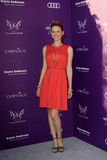 Sarah Drew arriving at 11th Annual Chrysalis Butterfly Ball Royalty Free Stock Images