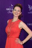 Sarah Drew arriving at 11th Annual Chrysalis Butterfly Ball Stock Photography
