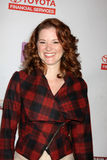 Sarah Drew. LOS ANGELES - FEB 20: Sarah Drew arrives at the 24 Hour Hollywood Rush at Ebell Theater on February 20, 2011 in Los Angeles, CA stock photo