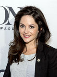 Sarah Greene. Actress Sarah Greene, appearing in the drama, The Cripple of Inishmaan, arrives at the 2014 Tony Awards Meet the Nominees Press Junket at The Royalty Free Stock Photography