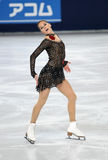 Sarah HECKEN (GER) short program Royalty Free Stock Photos