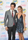Sarah Hyland & Tyler Posey Royalty Free Stock Images