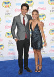 Sarah Hyland & Tyler Posey Royalty Free Stock Photo