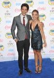 Sarah Hyland & Tyler Posey Royalty Free Stock Photo