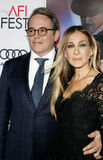 Sarah Jessica Parker and Matthew Broderick Royalty Free Stock Photography