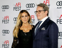 Sarah Jessica Parker and Matthew Broderick Stock Photo