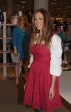 Sarah Jessica Parker met SJP-Inzameling, Miami Stock Foto
