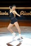 Sarah Meier na concessão dourada do patim 2011 Fotos de Stock Royalty Free