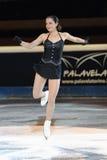 Sarah Meier na concessão dourada do patim 2011 Imagens de Stock Royalty Free
