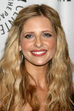 Sarah Michelle Gellar. Buffy the Vampire Slayer Reunion- PaleyFest08 Paley Center for Media's 24th William S. Paley Television Festival ArcLight Theater Los royalty free stock images