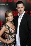 Sarah Michelle Gellar och Freddie Prinze Jr Royaltyfri Fotografi