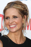 Sarah Michelle Geller arriving at the CBS TCA Summer 2011 All Star Party Stock Photography