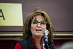 Sarah Palin 8 Arkivfoto