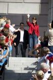 Sarah Palin Arrives Royalty Free Stock Image