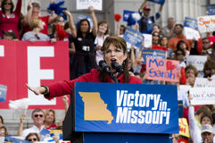 Sarah Palin obtient Images stock