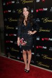 Sarah Shahi at the 2012 Gracie Awards Gala, Beverly Hilton Hotel, Beverly Hills, CA 05-22-12 royalty free stock image