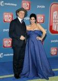 Sarah Silverman and John C. Reilly royalty free stock photo