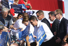 Sarah & Todd Palin Richmond, VA Royalty Free Stock Image