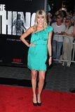 Sarah Wright. At The Thing World Premiere, AMC Citywalk Stadium 19, Universal City, CA 10-10-11 Royalty Free Stock Image