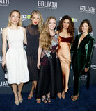 Sarah Wynter, Ever Carradine, Diana Hopper, Tania Raymonde and Olivia Thirlby Royalty Free Stock Photos