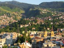Sarajevo. City Sarajevo,panorama-Bosnia and Herzegovina Royalty Free Stock Photos