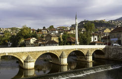Sarajevo Fotografia de Stock Royalty Free