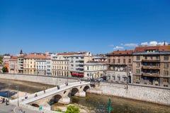 Sarajevo royalty-vrije stock afbeelding