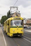 Sarajevo, Bosnië - Herzegovina, 16 Juli 2017: De Tram van Sarajevo, de reeks van Tatra K2 Royalty-vrije Stock Foto