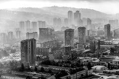Sarajevo Bosnia-Hercegovina cityscape stock photos