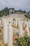 Sarajevo, bosnia and herzegovina, europe, a cemetery Stock Photography